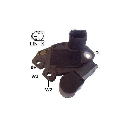Regulador Alternador - 14V (IK5233)