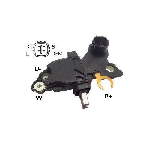 Regulador Alternador ALFA ROMEO (IK5237) - IKRO - PEÇA  - Co