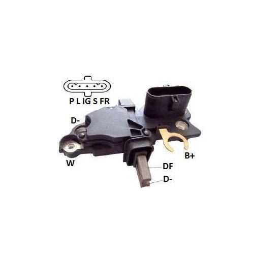 Regulador Alternador MBB 1938 VOLVO FH FORD CARGO VW CONSTEL