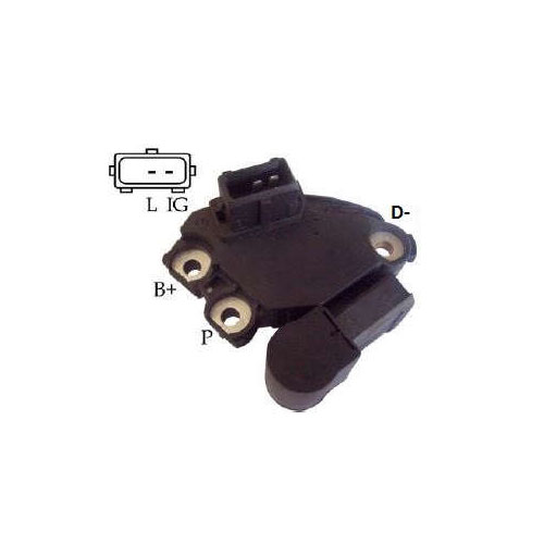 Regulador Alternador BMW 325I (IK5325) - IKRO - PEÇA - SKU: