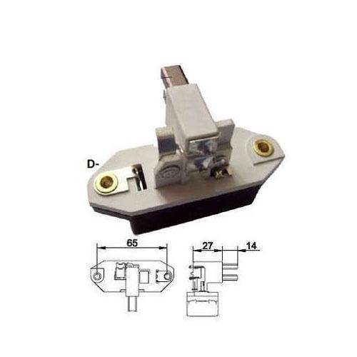 Regulador Alternador FIAT GM - Sistema BOSCH 075A (ZRV032)