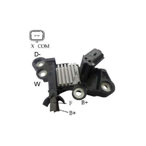 Regulador Alternador BMW (IK5341) - IKRO - PEÇA - SKU: 18029