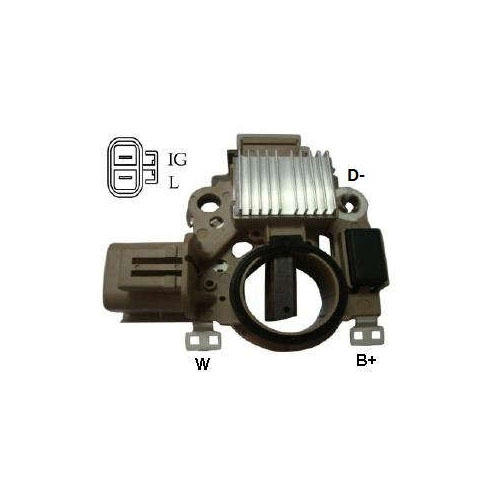 Regulador Alternador - 24V (IK5388)