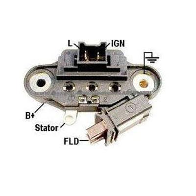 Regulador Alternador AUDI VW R19 (IK5512) - IKRO - PEÇA  - C