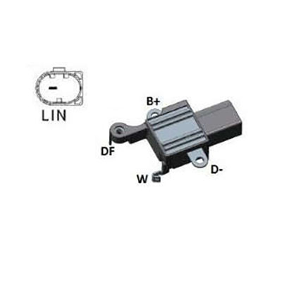 Regulador Alternador BMW Z4 X1 X3 (IK5533) - IKRO - PEÇA - S