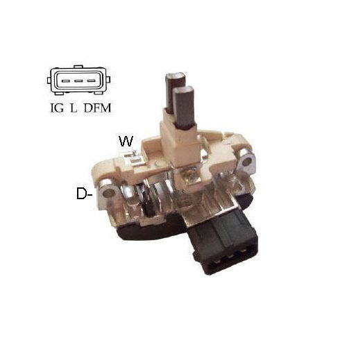 Regulador Alternador BMW (IK5545) - IKRO - PEÇA  - Cod. SKU: