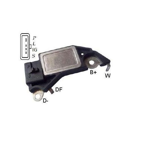 Regulador Alternador OMEGA - Com Ar Condicionado (IK5559) -