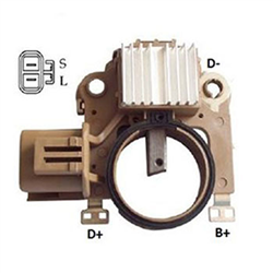 Regulador Alternador L200 2002 até 2015 (IK5772)