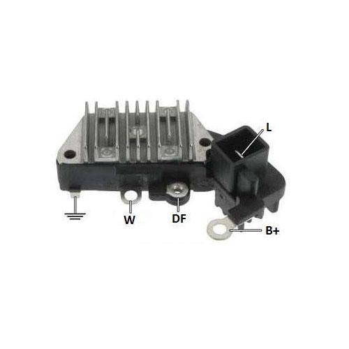 Regulador Alternador VOLVO S40 740 940 (IK5825) - IKRO  - Co