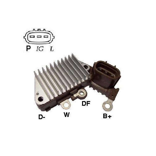 Regulador Alternador CATERPILLAR YANMAR NEW HOLLAND (IK5853)
