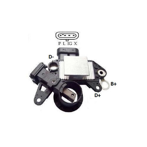 Regulador Alternador CUMMINS 11SI (IK5946) - IKRO - PEÇA - S