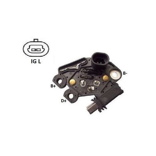 Regulador Alternador BMW CASE CATERPILLAR (IK5985) - IKRO -