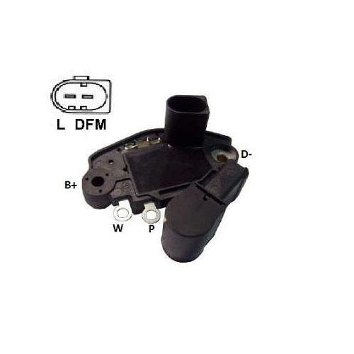 Regulador Alternador AUDI A6 FOX (IK5986) - IKRO  - Cod. SKU