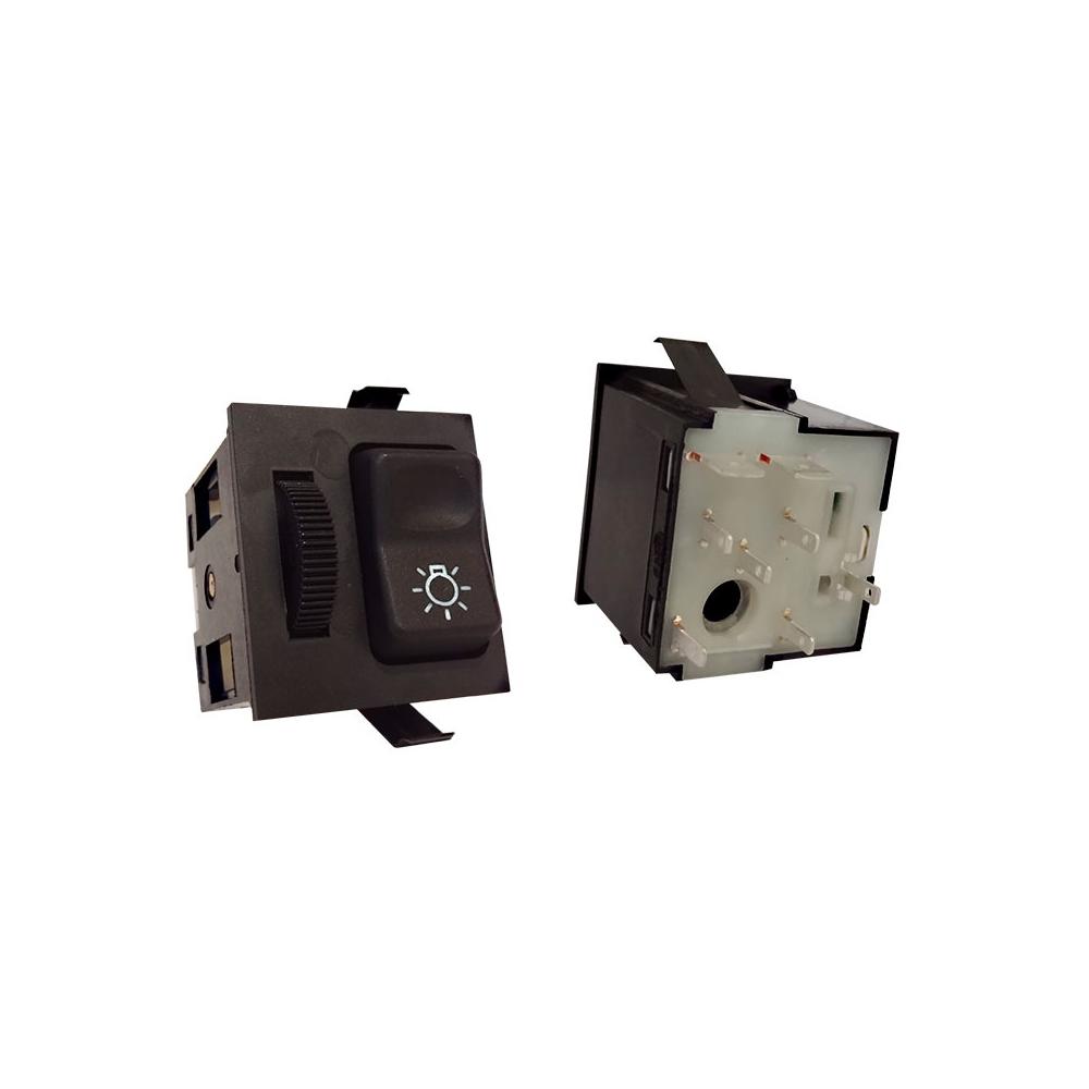 Chave Luz MBB BICUDO 1996 até 2010 - 24V - Com Reostato (K30