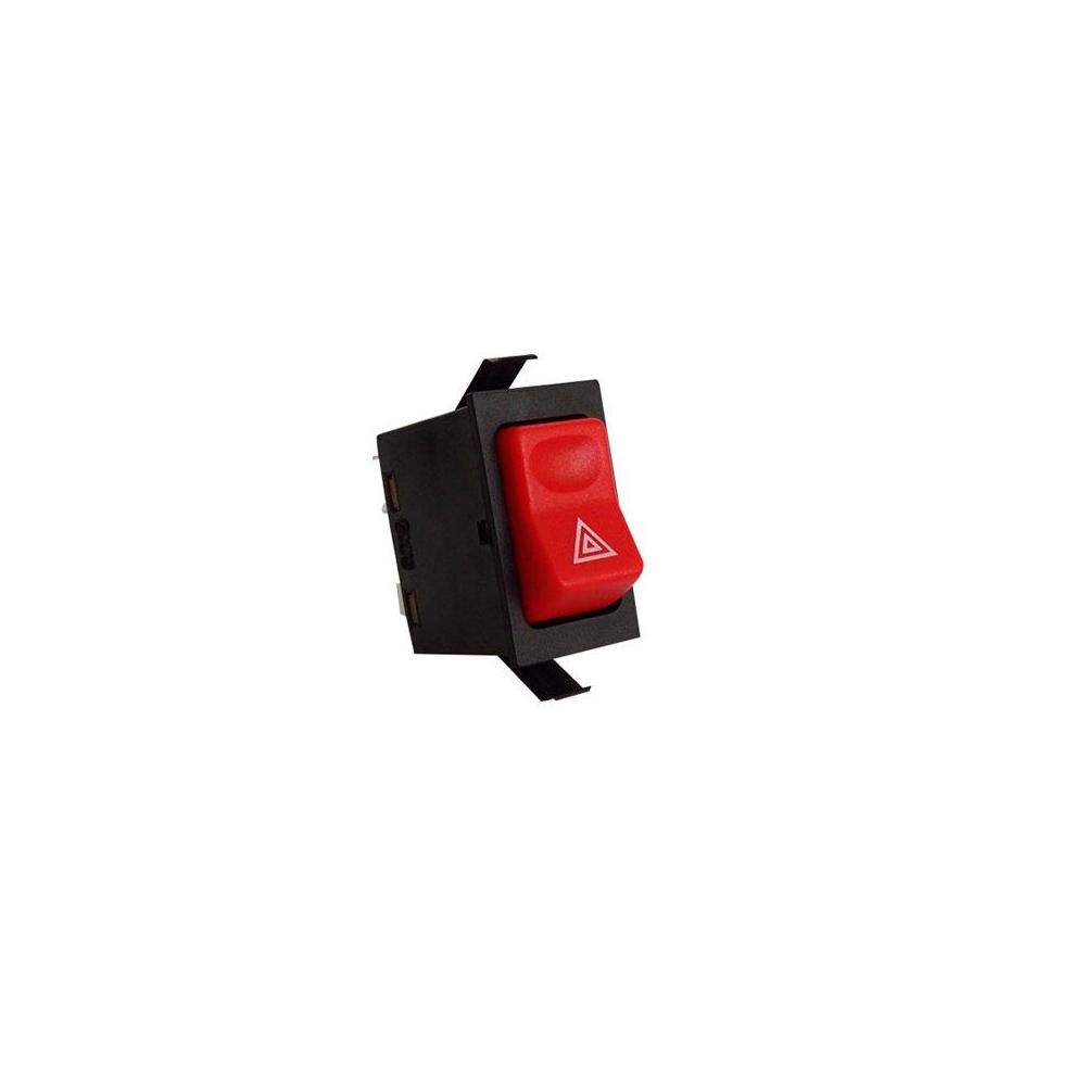 Interruptor Pisca Alerta MBB BICUDO - 1996 Em Diante - 12V -
