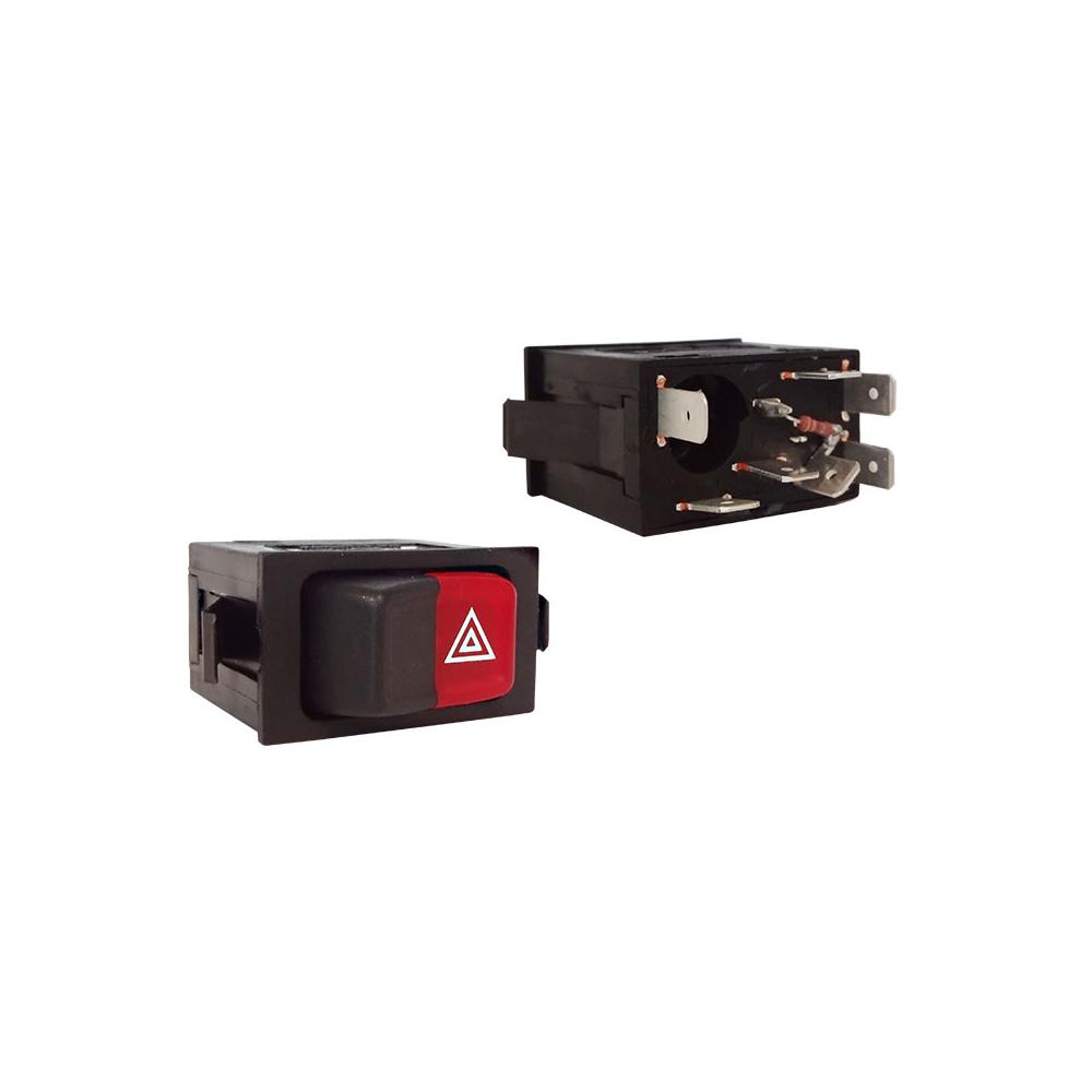 Interruptor Pisca Alerta GOL SANTANA 1988 até 1994 (K3813905