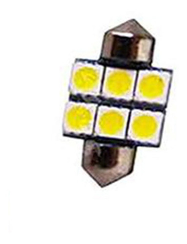 Led Torpedo 28mm - 12V - 06 Leds - BRANCO (LED119)