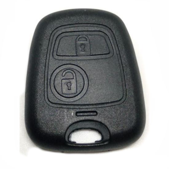 Capa de Controle - Telecomando - C3 PEUGEOT 206 207 - 2 Botõ