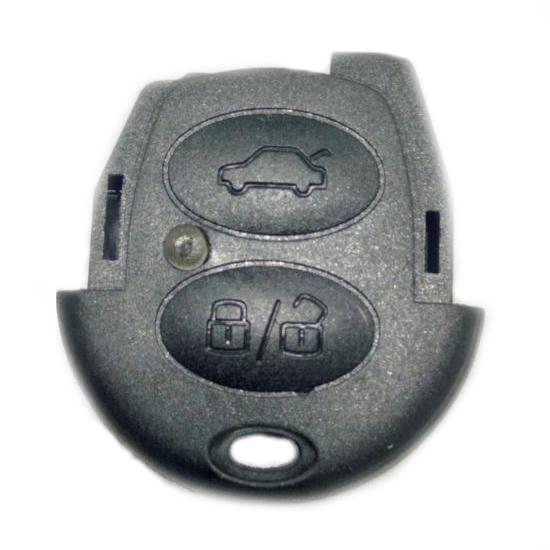 Capa de Controle - Telecomando - GOL FOX KOMBI - 2 Botões (LZ9027) - PEÇA - Cod. SKU: 7318