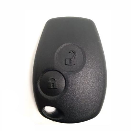 Capa de Controle - Telecomando - LOGAN SANDERO - 2 Botões (L
