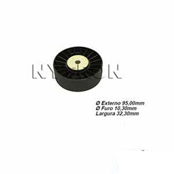 Polia Tensora do Alternador SCANIA 124 Com Ar-Condicionado (
