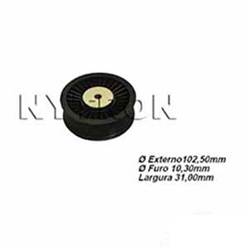 Polia Tensora do Alternador SCANIA 124 Sem Ar-Condicionado (