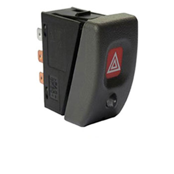 Interruptor Pisca Alerta CORSA 1994 até 2002 - Com Luz Alarm