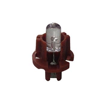 Lâmpada Soquete Painel 12V - Soquete Marrom - Injeção Eletrô
