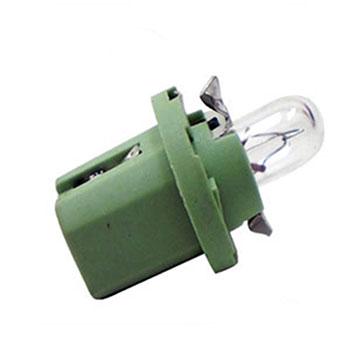Lâmpada Soquete Painel 12V - Soquete Verde Limão (OS2722MF)