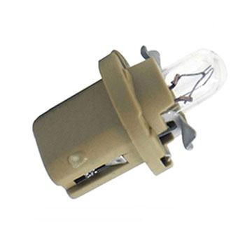 Lâmpada Soquete Painel 12V - Soquete Bege (OS2752MF)