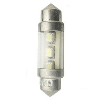 LED Torpedo 36MM 12V - 2 LED 5W - Branco (OS6498CW)