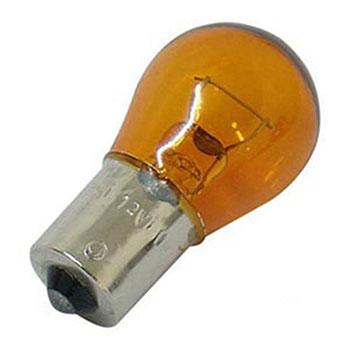 Lâmpada 1141 12V 21W - Pinos em Ângulo - Amarela BASE PY (OS