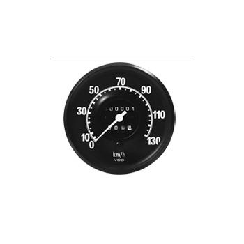 Velocimetro MBB CARA PRETA - Escala de 0-130 Km/H / W=1,0 (1
