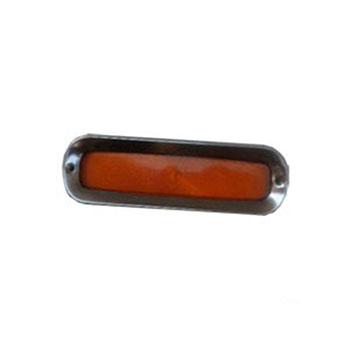 Lanterna Dianteira CHEVROLET A10 C10 D10 - 1 Polo - Amarelo