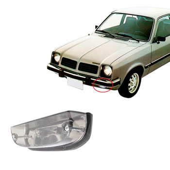 Lanterna Dianteira CHEVETTE 1973 até 1982 - Branco (PR2596CR
