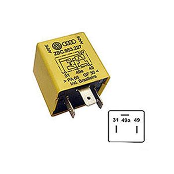 Relé de Pisca 12V 03 Terminais 200W ORIGINAL (RP10) - ARPE -