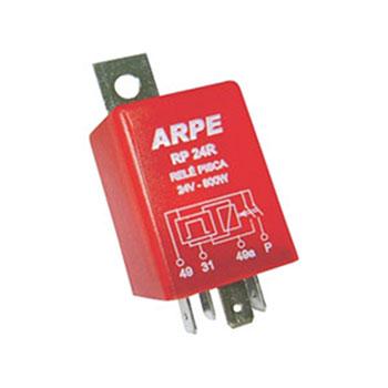 Relé de Pisca 24V 04 Terminais 800W (RP24SR) - ARPE - PEÇA -