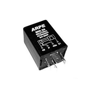 Relé de Pisca Alternado 24V 05 Terminais 800W (RPA24) - ARPE