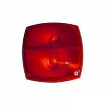 Lente para Lanterna Traseira S1067 Vermalh (S067VM)