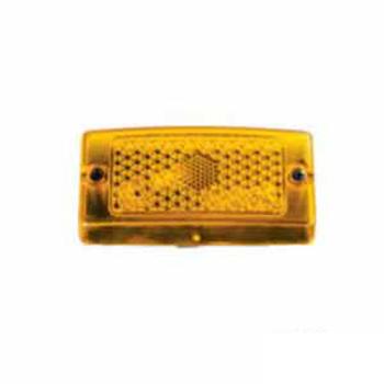 Lente para Lanterna S10731074 Amarelo (S073AM)
