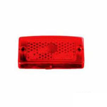 Lente para Lanterna S10731074 Vermelha (S073VM)