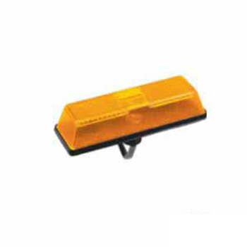 Lanterna Lateral Para Lama - Com Soquete - Amarelo (S1069SAM
