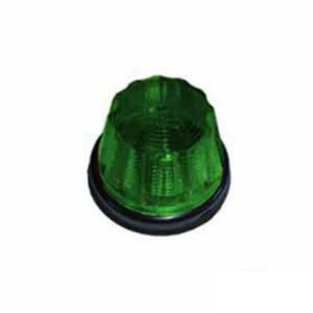Lanterna Pudim Soquete Interno Verde (S1110VD)