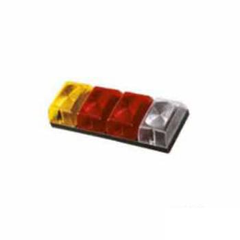 Lanterna Traseira - Com Luz Re - Com 4 Lentes (S1130R)