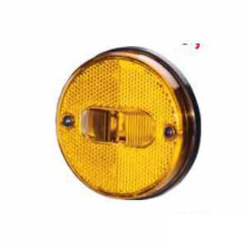 Lanterna Lateral Acrilica Amarelo (S1163ACRAM)