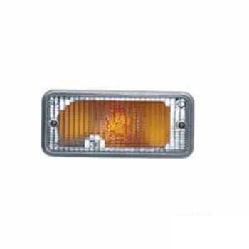 Lanterna Frontal Pisca - Com Cupula - Amarelo (S1169CR)