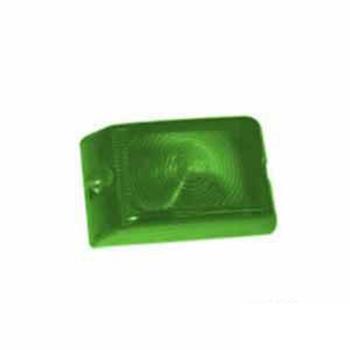 Lente Arredondo para Lanterna S1118R/S1119 - Verde (S118RVD)