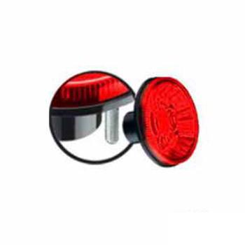 Lanterna Traseira Fixação 2 Parafusos Externos - Vermelho (S