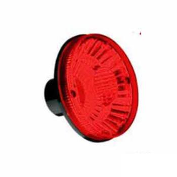 Lanterna Traseira Lente Movel Metalizada (S1224VM)