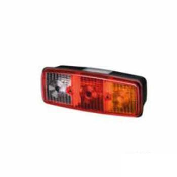 Lanterna Traseira Mb - Com Vigia Tricolor (S1514CV)
